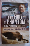 British RAF From Fury to Phantom RAF Pilot's Story 1936-1970 Reference Book