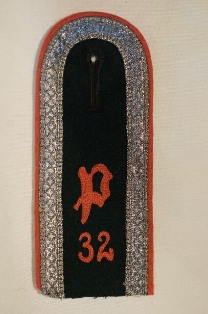 WW2 German 32nd Panzer Anti Tank Other Ranks Single Shoulder Board