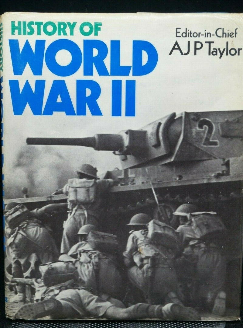 History Of WW2 British German US Japan AJP Taylor Book