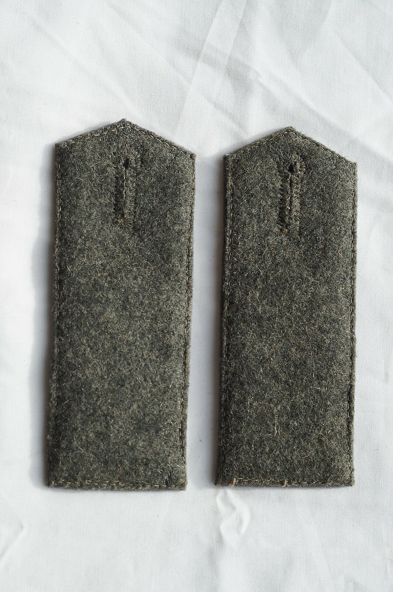 WW1 Imperial German 13th Kraftfahr Battalion Shoulder Straps Boards Pair