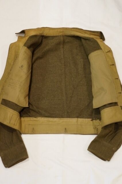 WW2 Canadian 12th Manitoba Dragoons Named Battle Dress