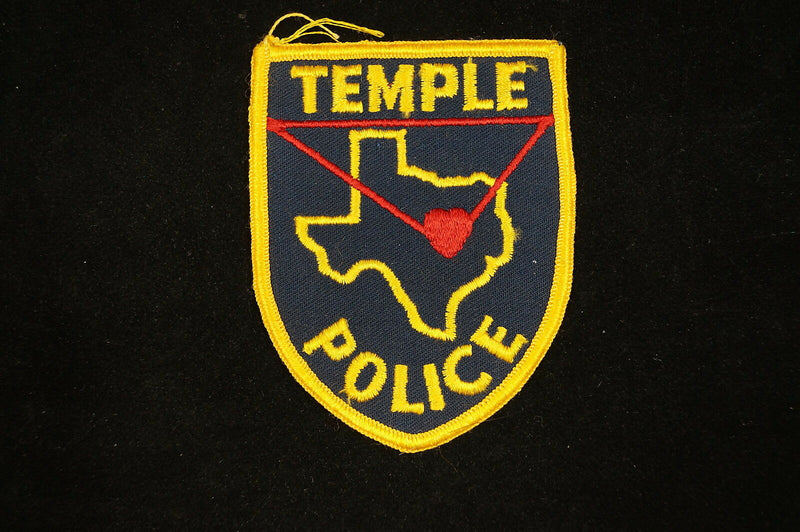 US Temple Texas Police Patch