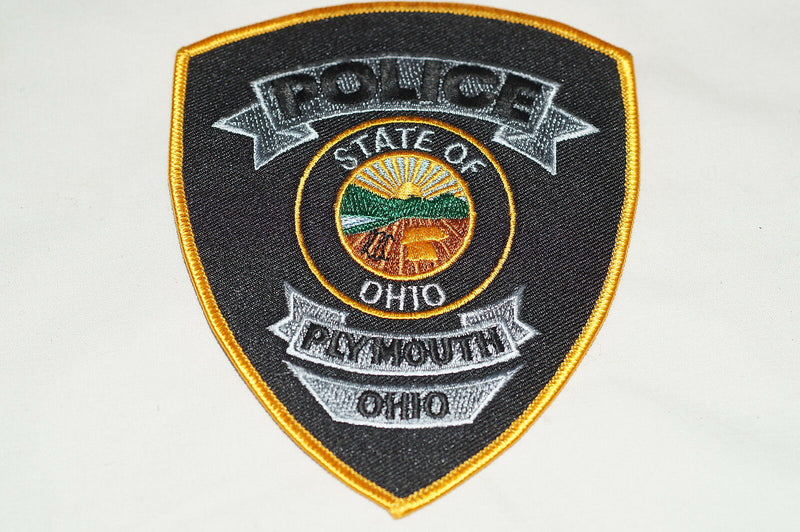 US Plymouth Ohio Police Patch