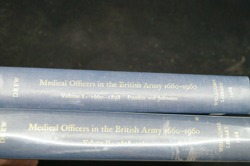 British Medical Officers 1660-1960 Reference Book 2 Volumes