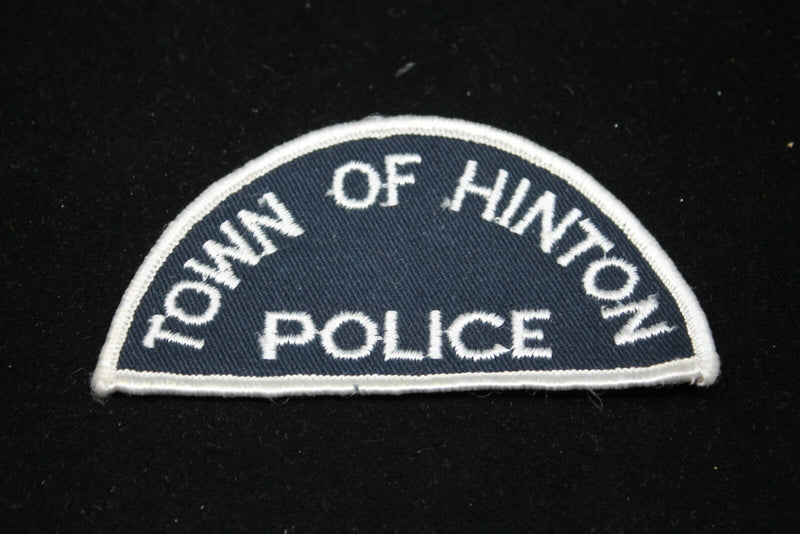 Canadian Town of Hinton Alberta Police Patch 1