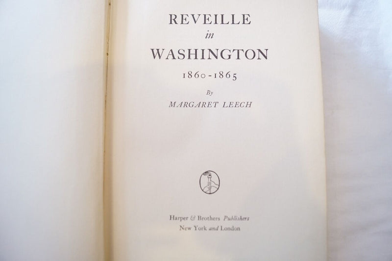 Reveille in Washington Reference Book