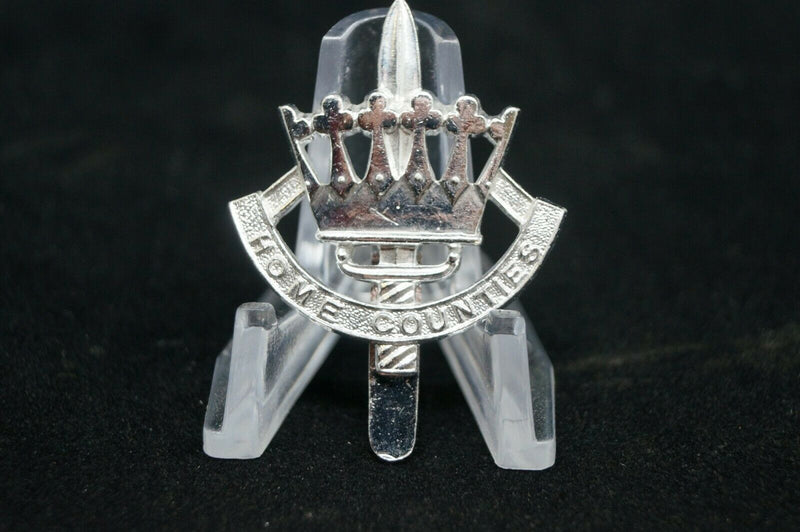 British Home Counties Staybright Cap Badge
