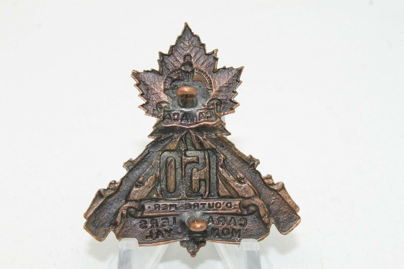 WW1 Canadian CEF 150th Battalion Cap Badge