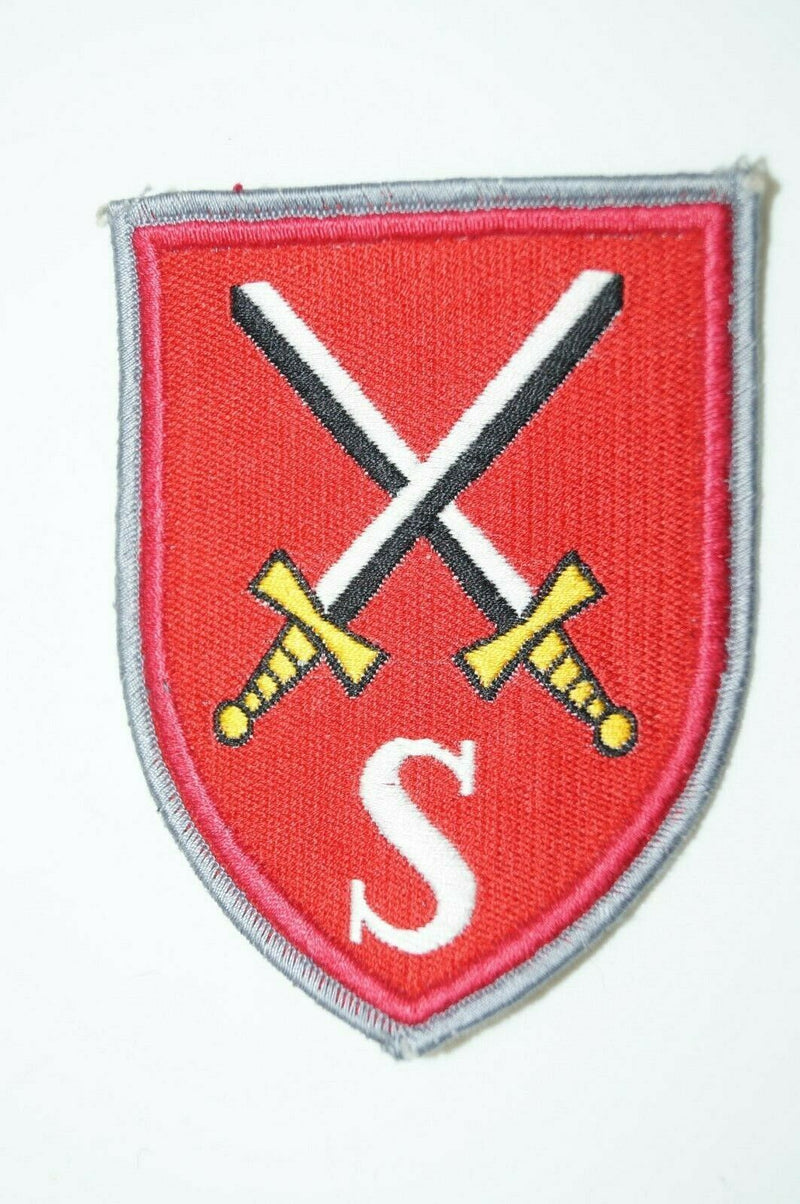 Cold War West German Brigade Division Sleeve Patch S