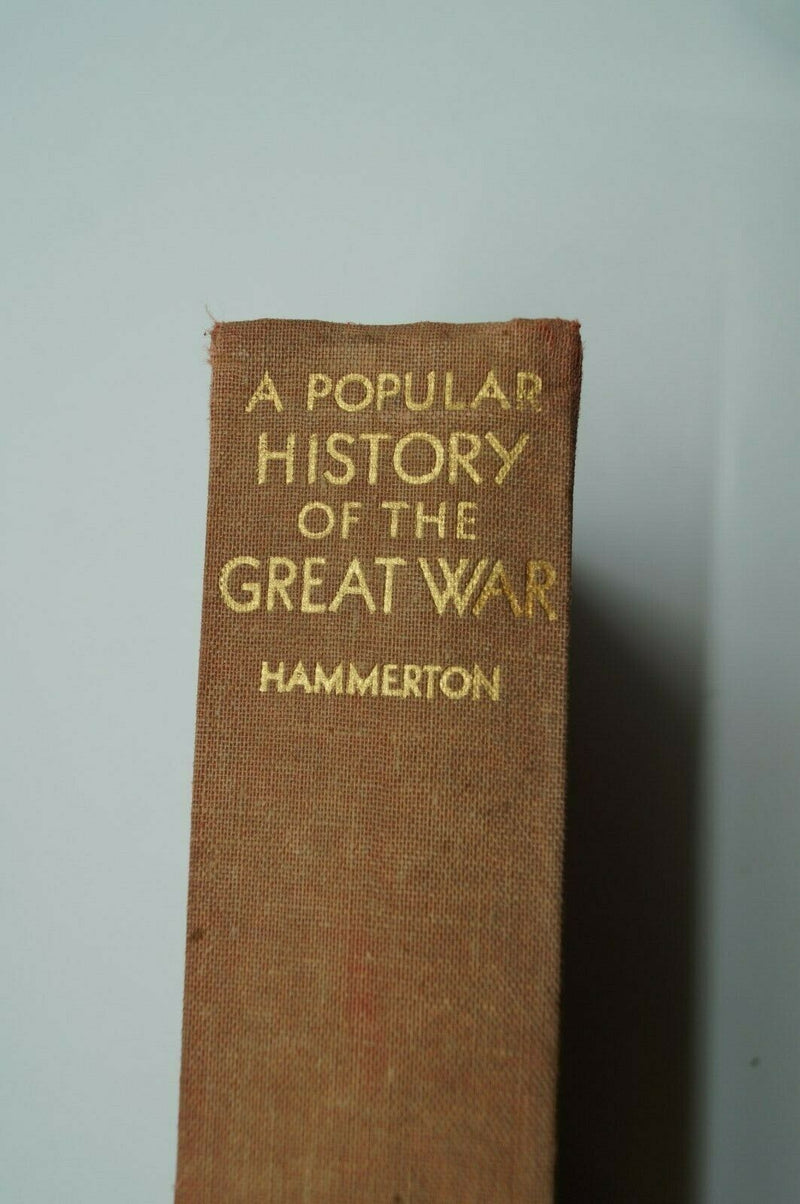 WW1 Britain BEF A Popular History Of The Great War Vol 6 Reference Book