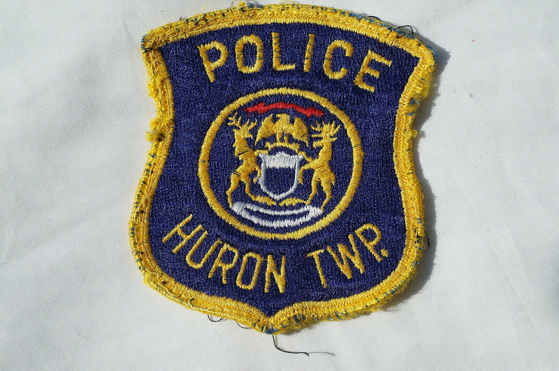 US Huron Police Patch Obsolete