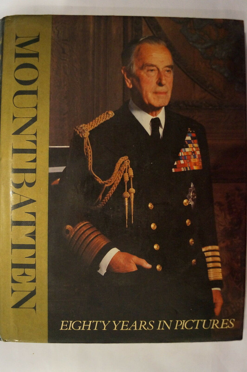 British Lord Mountbatten 80 Years In Pictures Burma Reference Book