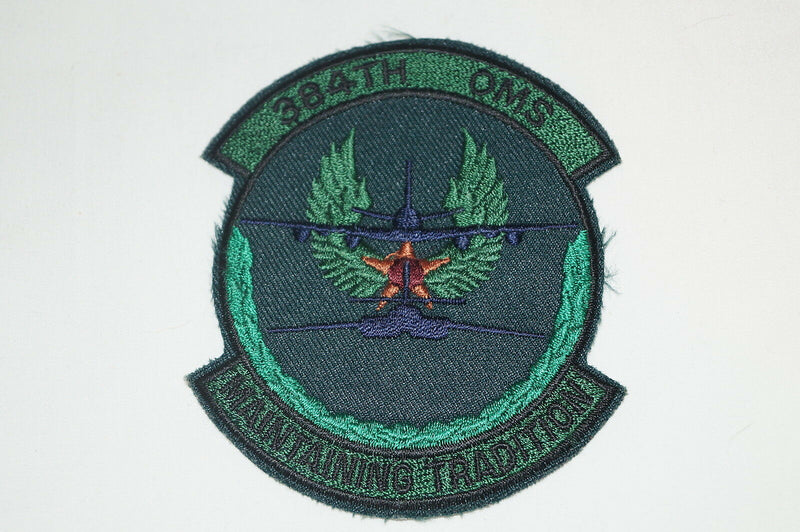 United States Airforce USAF 384th OMS Squadron Maintaining Tradition Patch