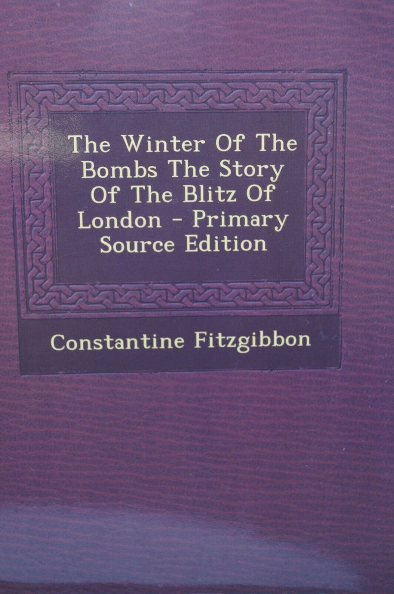 WW2 Britain Germany The Winter Of The Bombs Reference Book