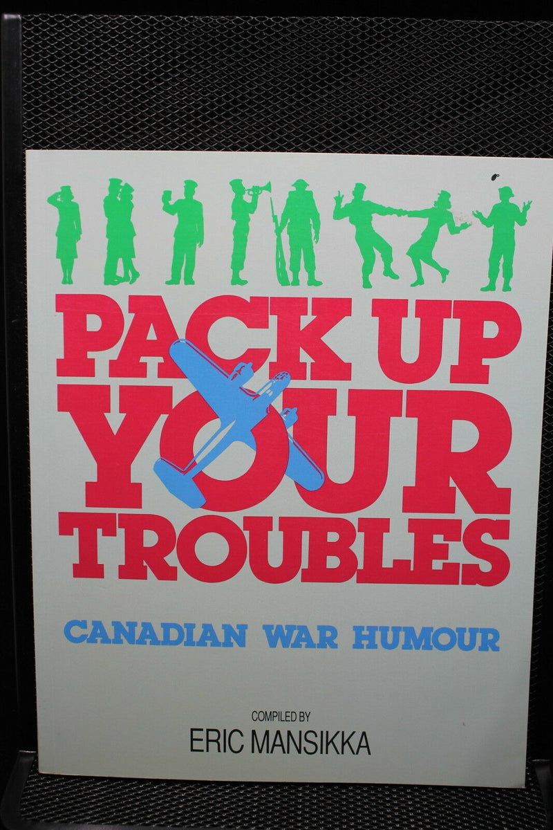WW2 Canadian Pack Up Your Troubles War Humour Reference Book