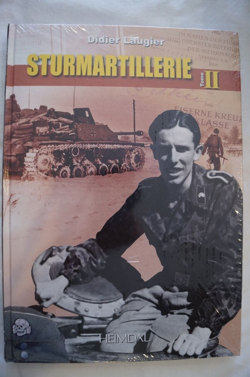 WW2 German Strumartillerie Tome 2 (in French) Reference Book