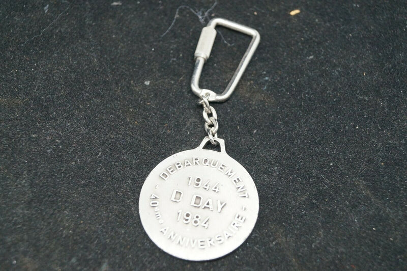 WW2 Canadian D-Day Arromonches 40th Anniversary Key Chain