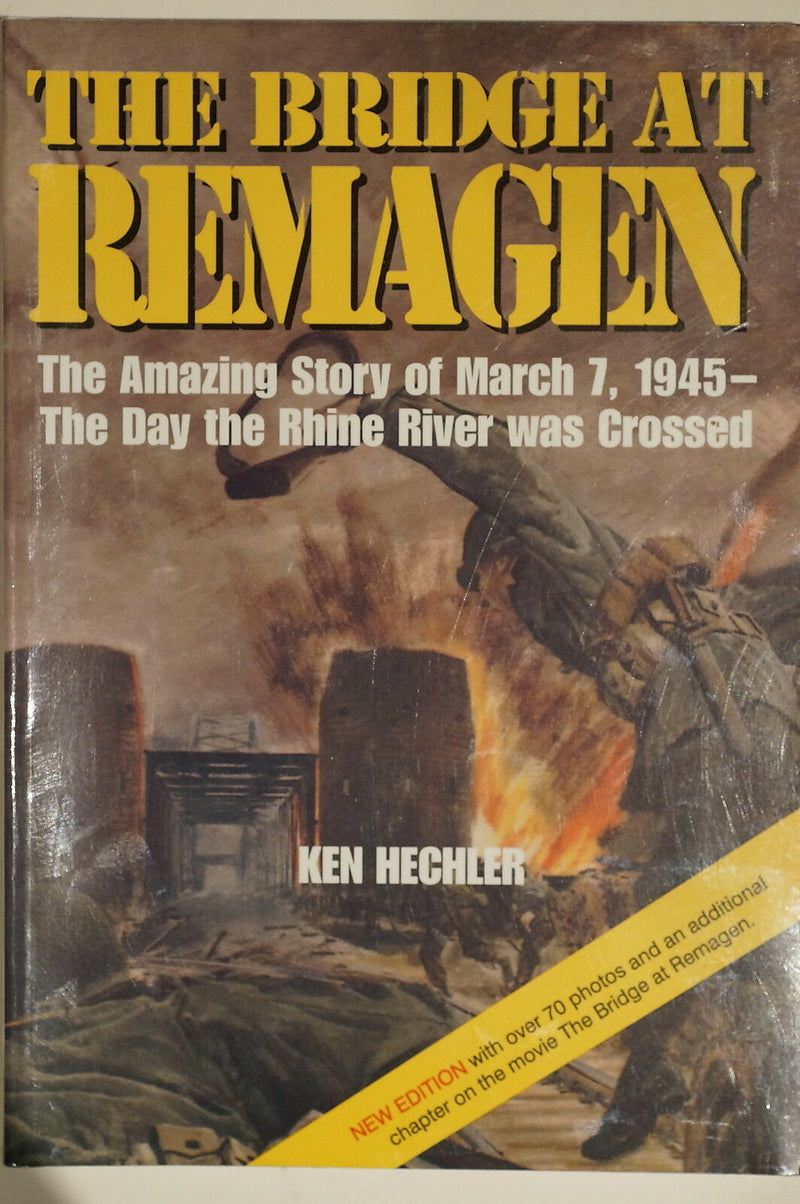 WW2 US Bridge At Remagen Day Rhine River Was Crossed March 7 1945 Reference Book