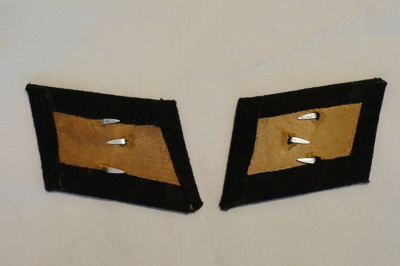 German WW2 Luftwaffe Pioneer Shoulder Boards and EM'S Collar Tabs Pair