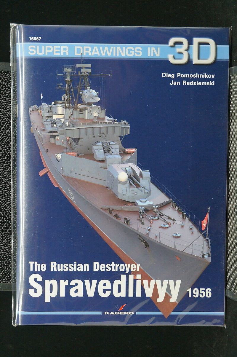 Cold War The Russian Destroyer Spravedlivyy 1956 Super Drawings Reference Book