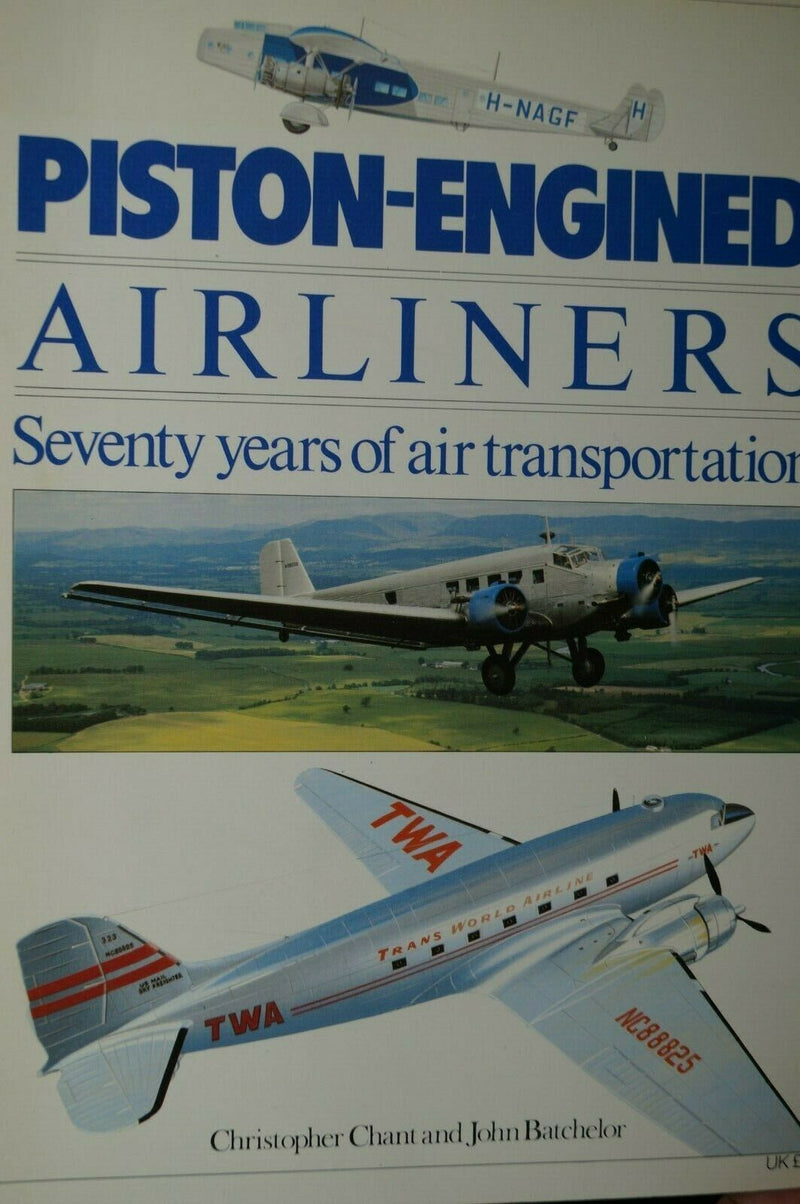 Post WW1 Britain Piston Engined Airliners Reference Book