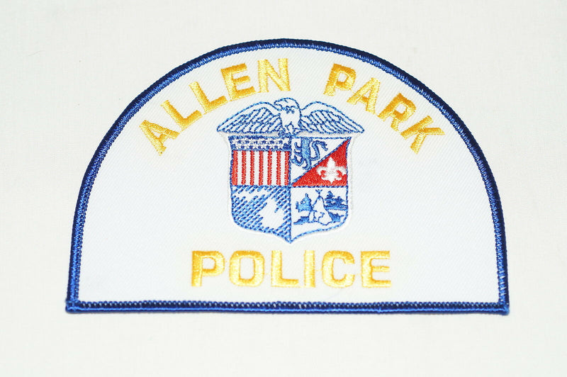 US Allen Park Michigan Police Patch