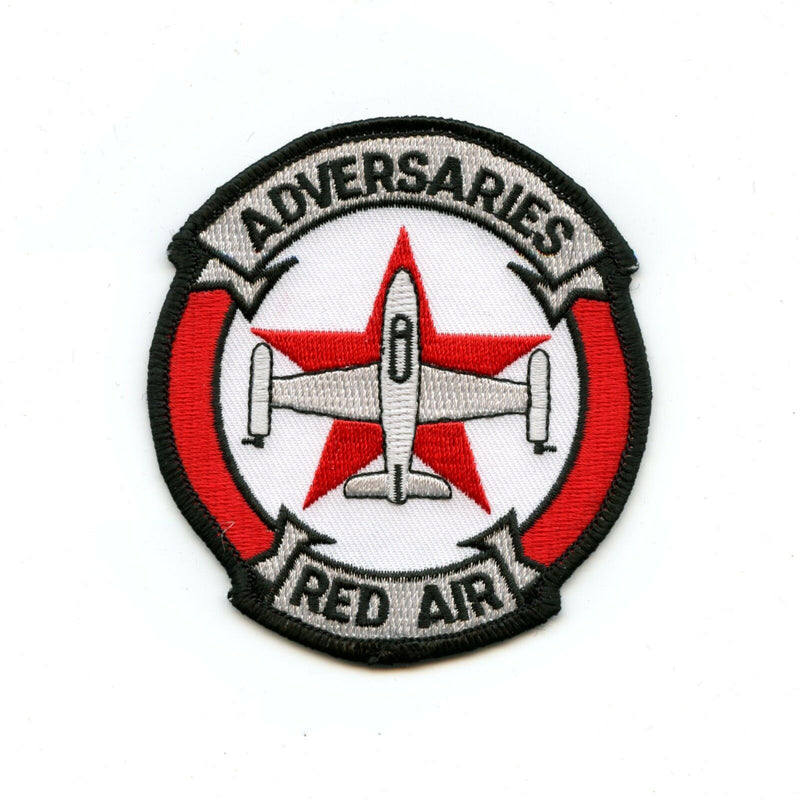 RCAF CAF Canadian 414 Red Air Adversaries Colour Squadron Crest Patch