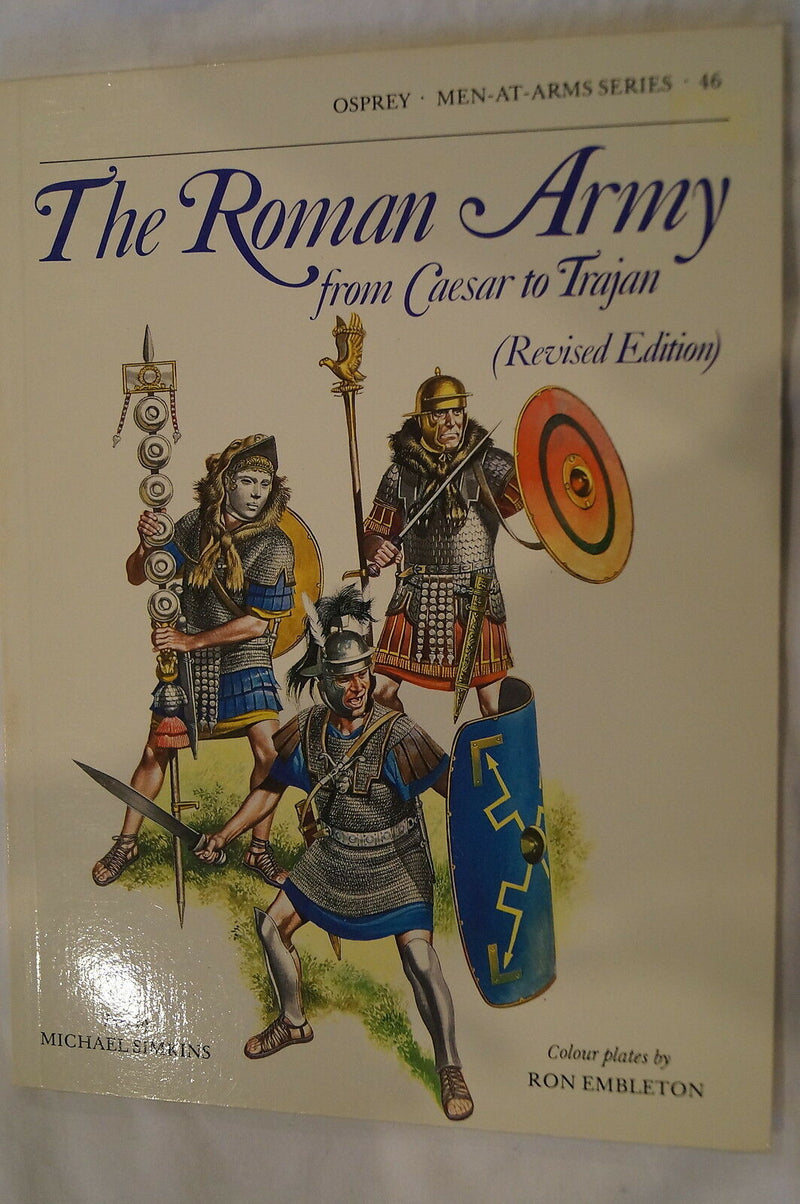Roman Army Caesar to Trajan Osprey Reference Book