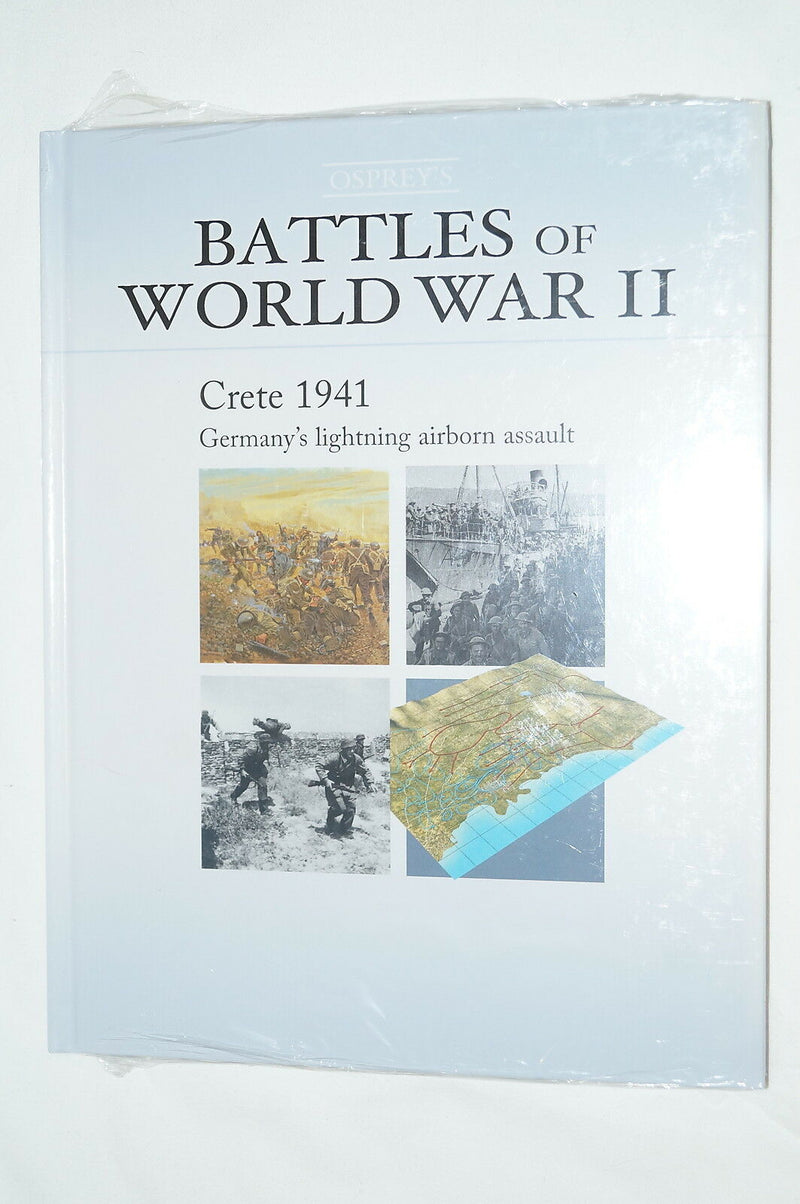 WW2 British German Crete 1941 Germanys Lighting Airborne Assault Reference Book