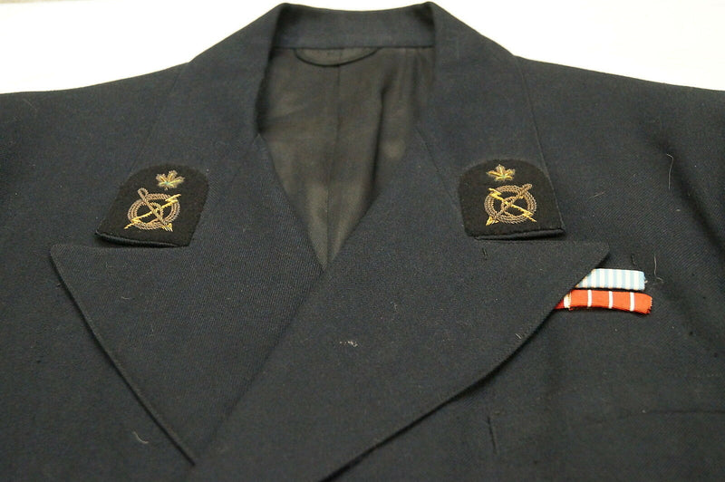 Post WW2 Canadian RCN Petty Officers Service Dress Jacket Named