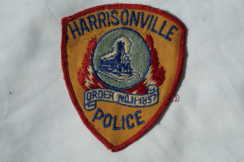 US Harrisonville Police Patch Obsolete