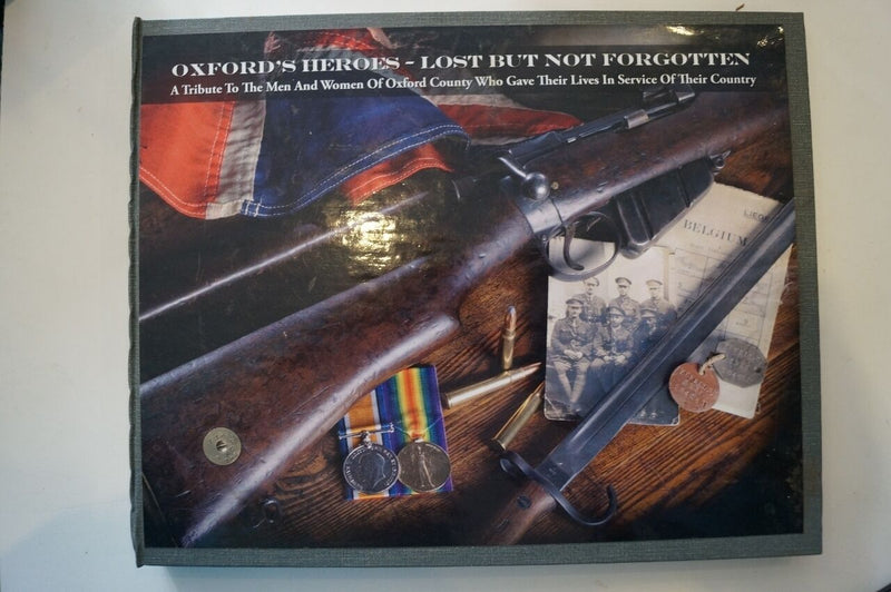 WW1 British Oxford's Heroes Lost But Not Forgotten Reference Book