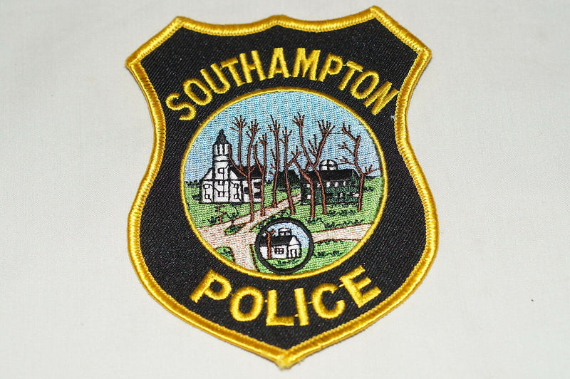 US Southampton Massachusetts Police Patch