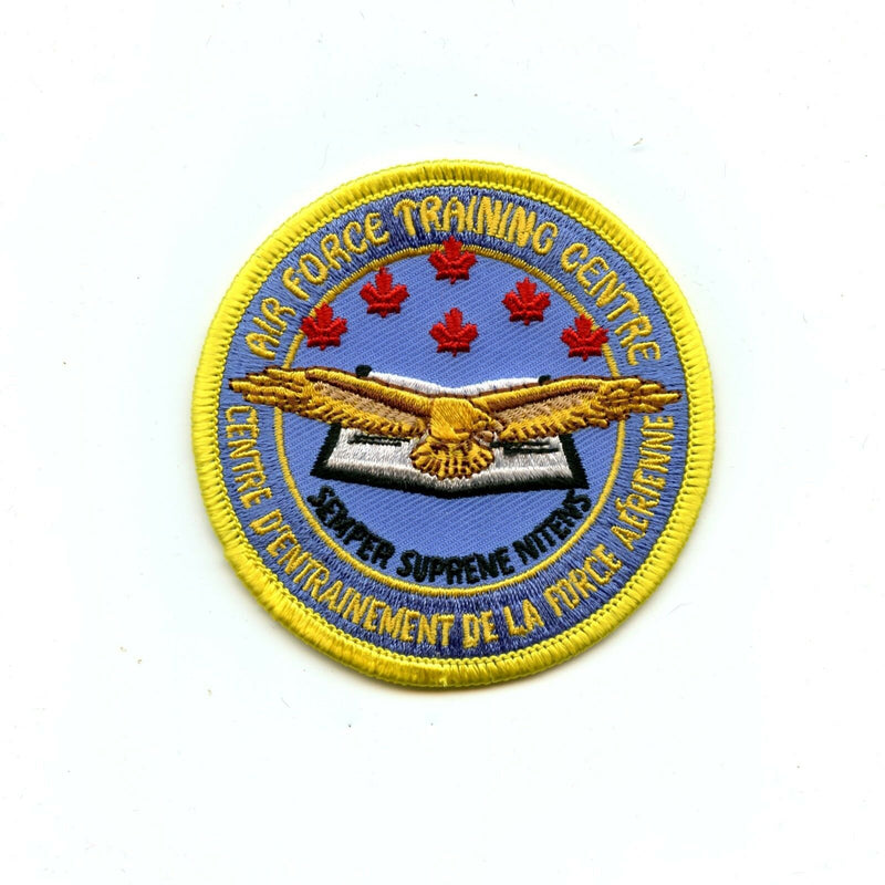 RCAF CAF Canadian SAR Search and Rescue School Colour Crest Patch