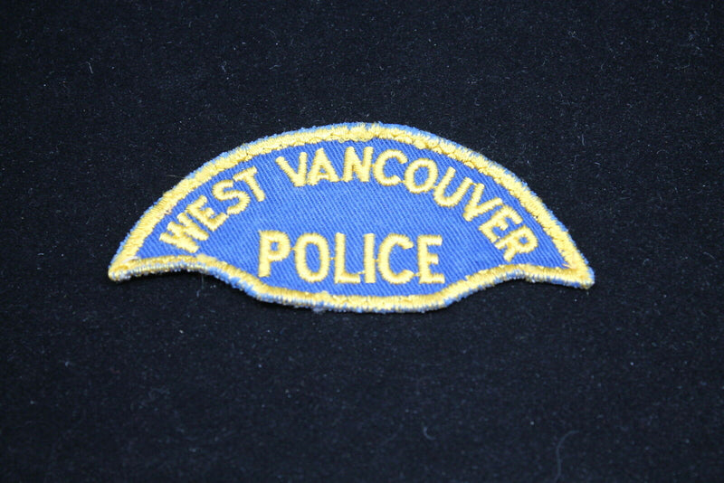 Canadian West Vancouver British Columbia Police Patch 1