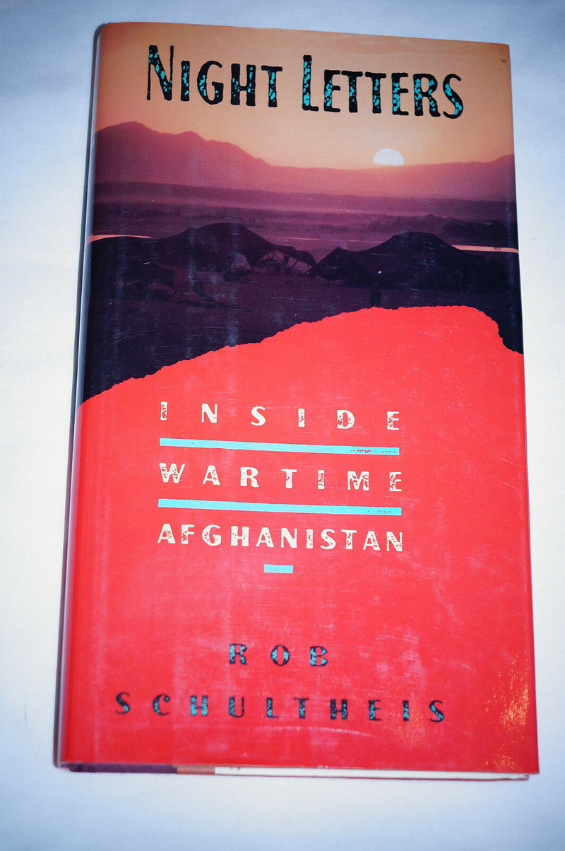 US Russian Night Letters Inside Wartime Afghanistan Reference Book