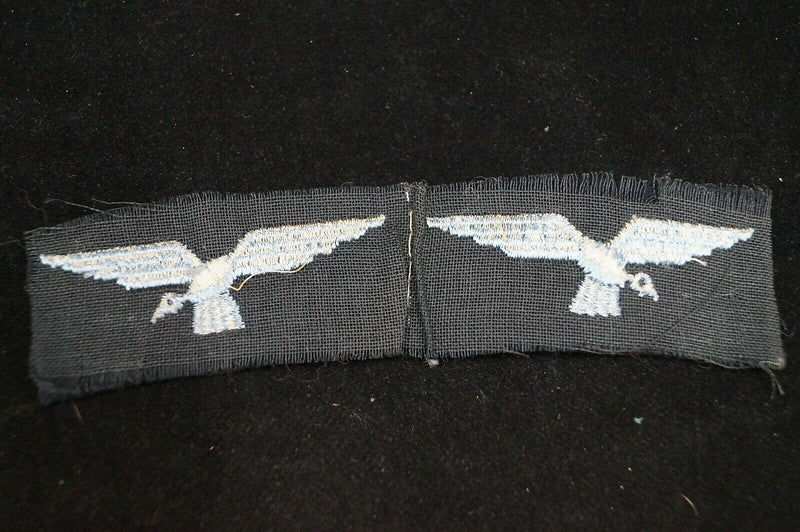 WW2 British Canadian Women's Auxiliary Air Force Cloth Shoulder Titles