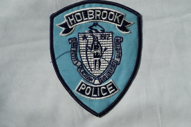 US Holly Police Patch Obsolete