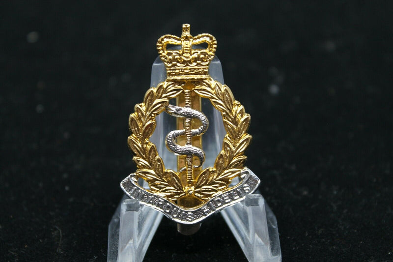 British Army RAMC Army Medical Corps Staybright Cap Badge