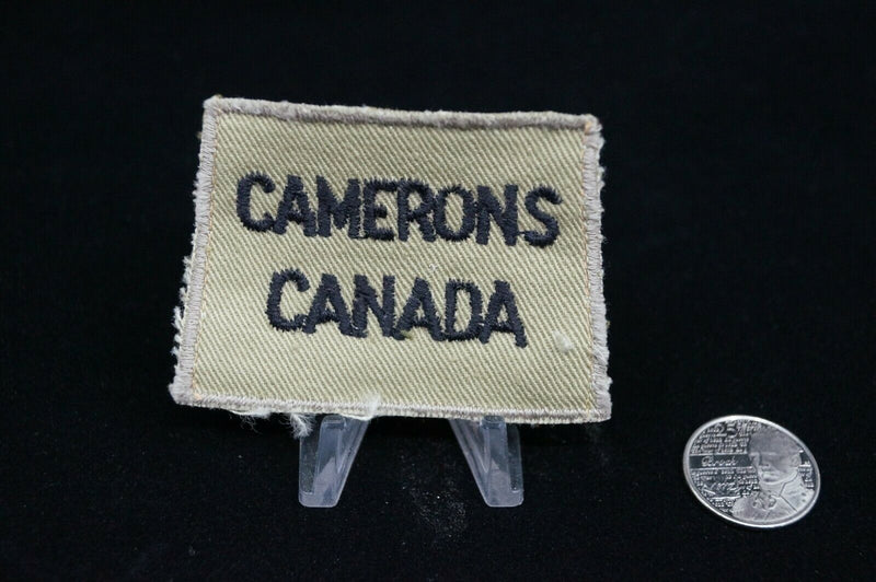 WW2 Canadian Camerons Canada Tropical Shoulder Slip On