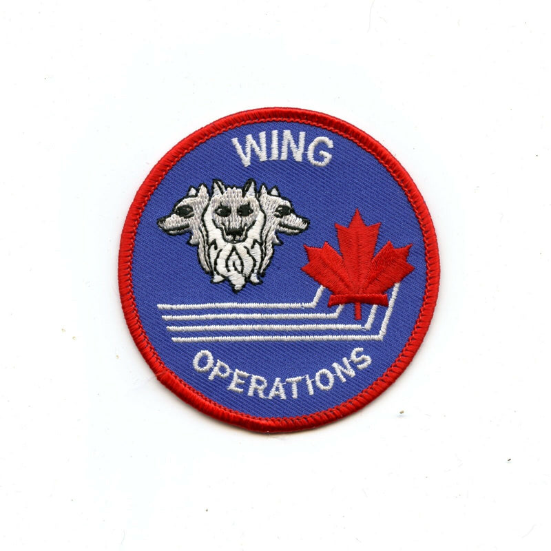RCAF CAF Canadian 4 Wing Cold Lake Operations Colour Crest Patch