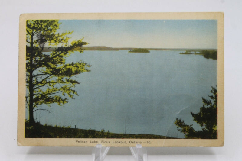 WW2 Canadian Post Card Pelican Lake Lookout Ontario