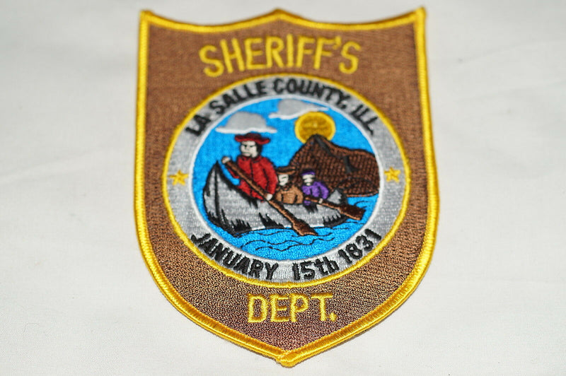 US Sheriffs Department La Salle County Illinois Police Patch