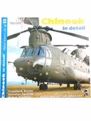 Chinook In Detail Helicopter Model Reference Book
