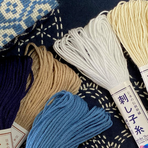 Japanese Embroidery Threads