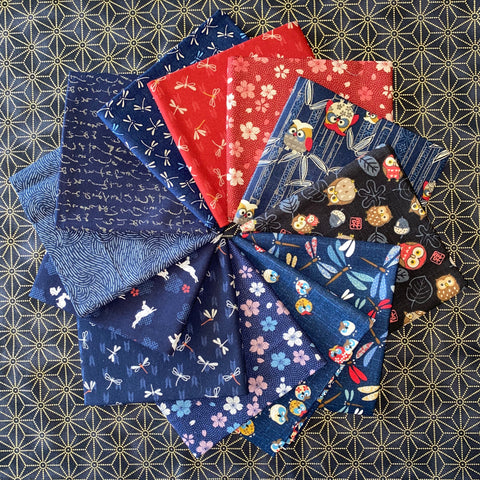 Japanese Style Fabric Collection