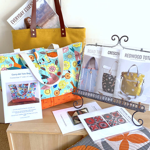 Sewing and Bag Patterns & Kitsets