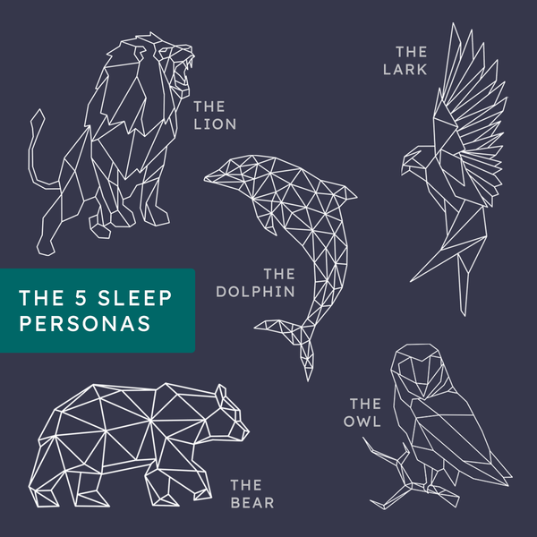 There are 5 Sleep Personas! Which one are you?
