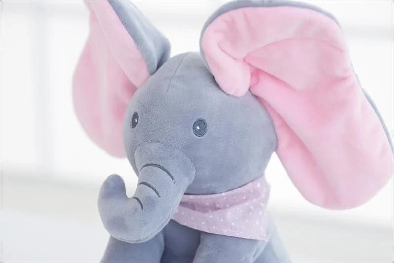 Singing Elephant Plush