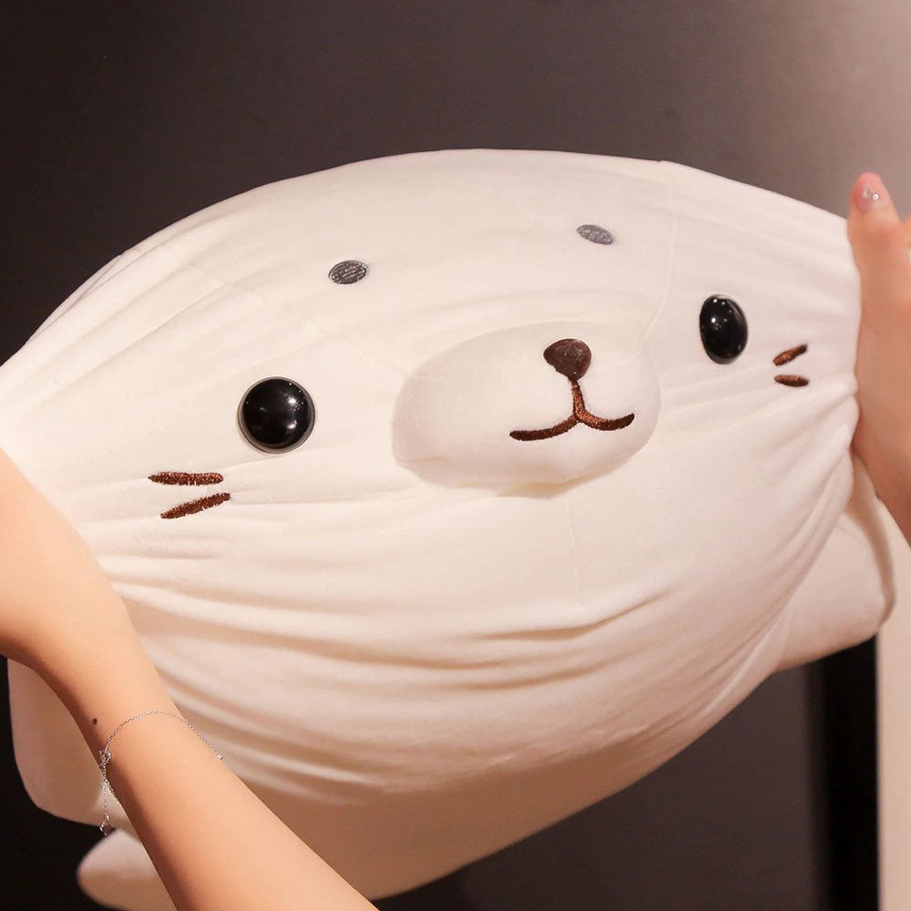 60cm Soft Cuteness Overload Seal Plush Cartoon Version